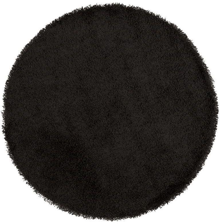 Kokoon design - dywan shaggy 200 cm - czarny