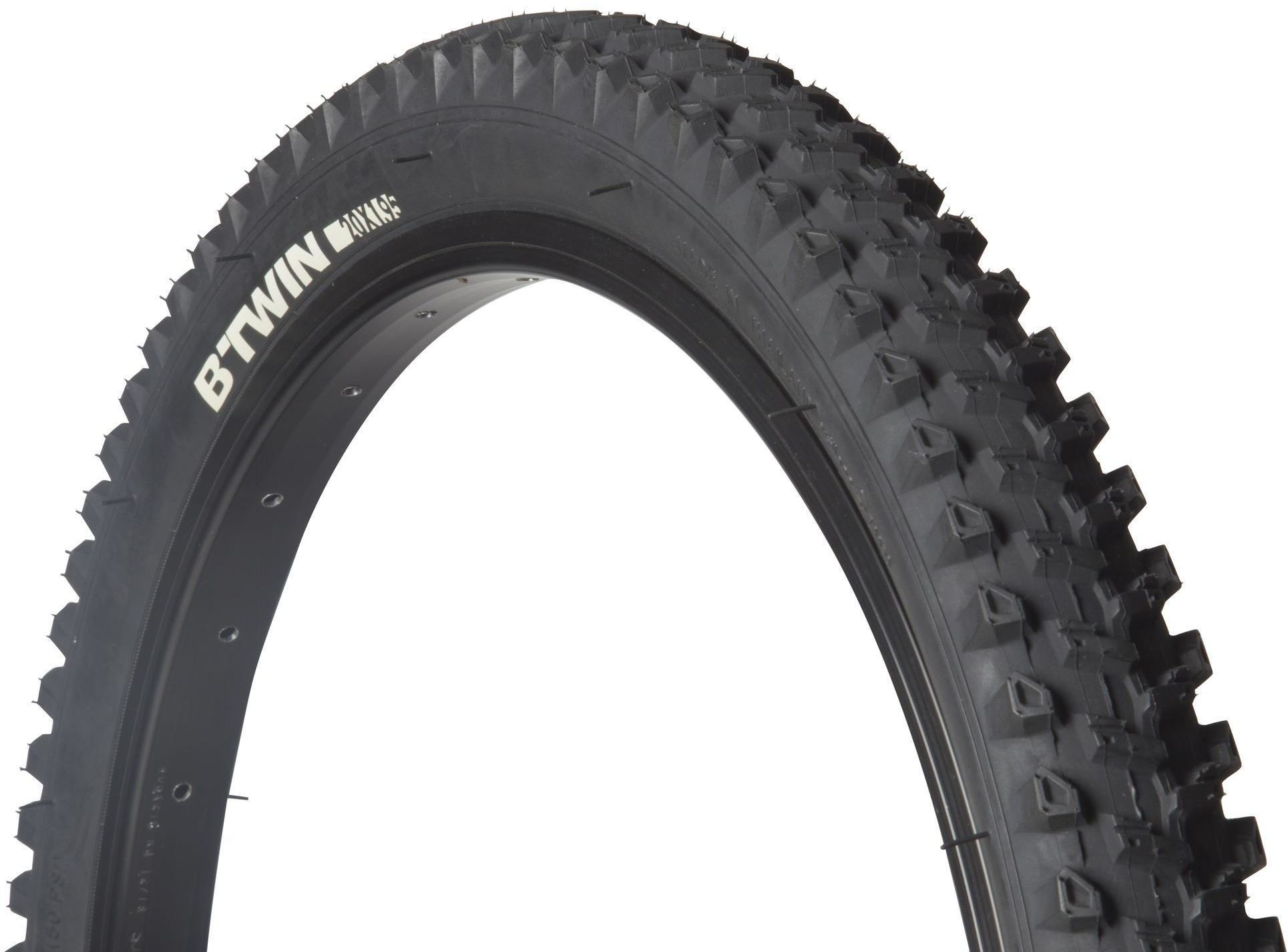 Opona do roweru MTB dziecięcego 20x1,95 ze sztywną stopką / ETRTO 47-406