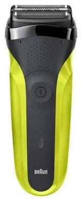 Golarka BRAUN 300 Series 3 Czarny/zielony>>Teraz w zestawie do 70% TANIEJ. Sprawdź!