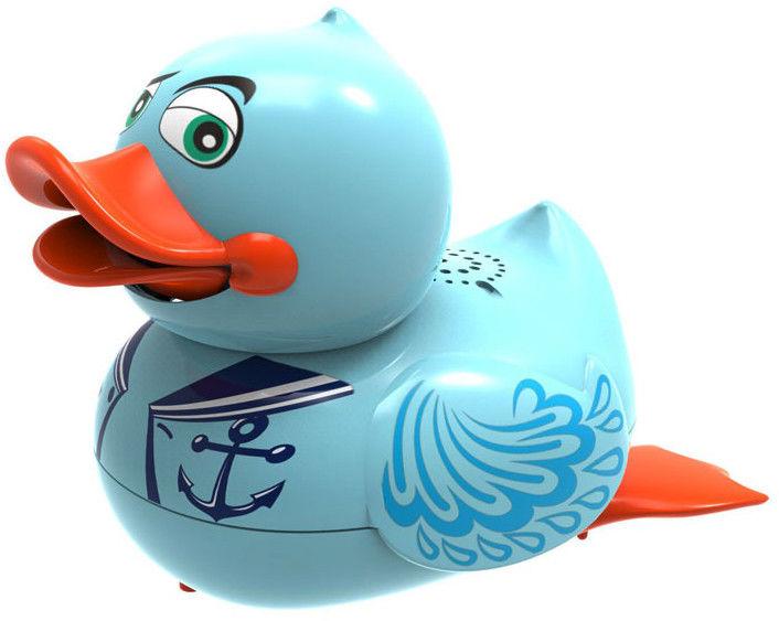 Silverlit Aqua Ducks - Śpirewająca i pływająca kaczuszka Niebieska 88447