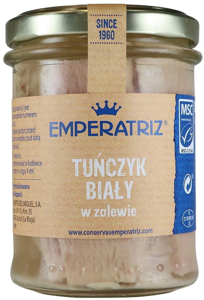 Tuńczyk biały filety w zalewie 200 g (140 g) (słoik) - emperatriz