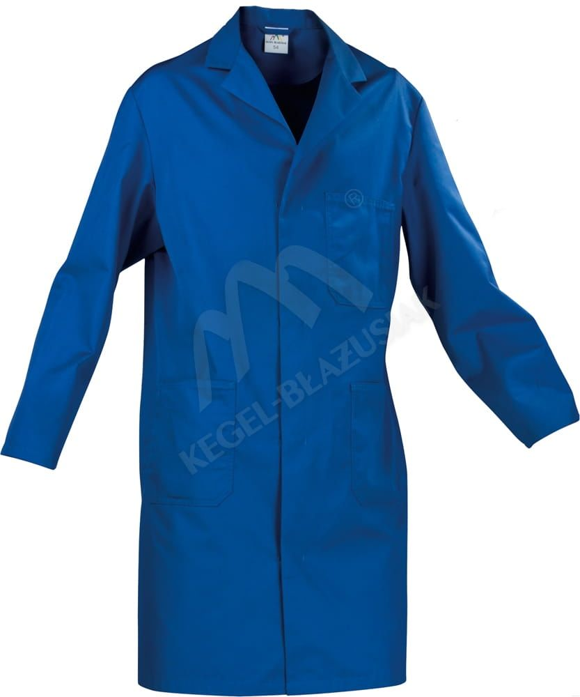 Fartuch Olimp, niebieski