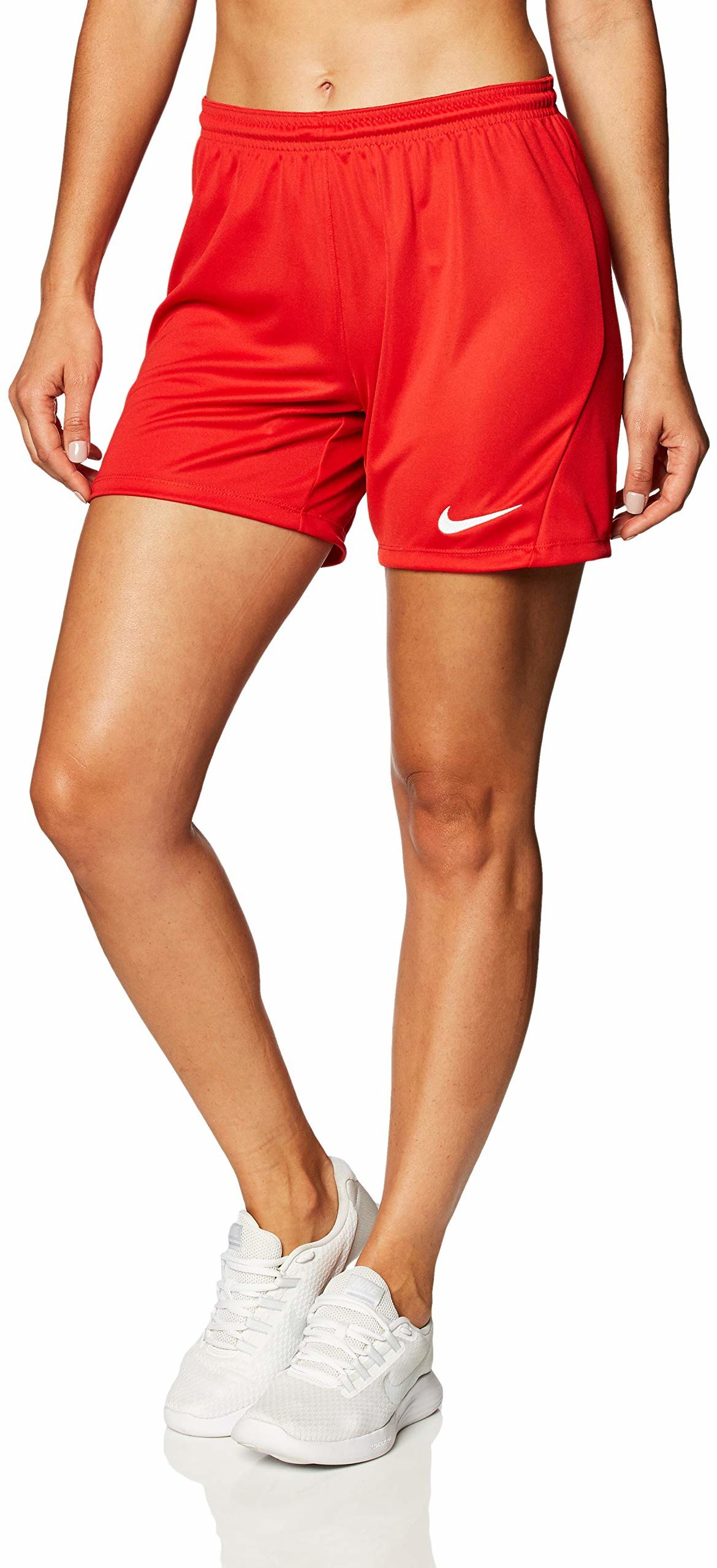 Nike damskie szorty Park Iii Nb czerwony czerwony/biały (University Red/White) L