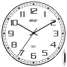 Zegar plastikowy convex Super Cichy #2