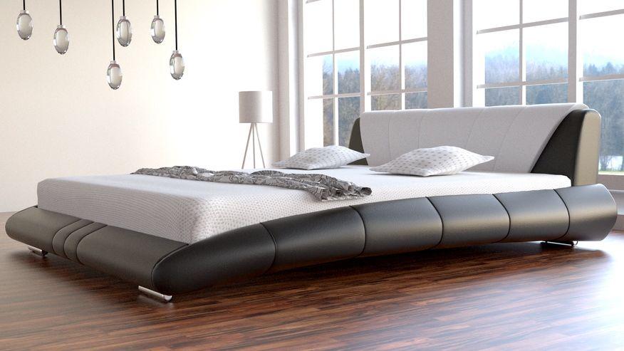 Łóżko do sypialni Lazurro - tkanina