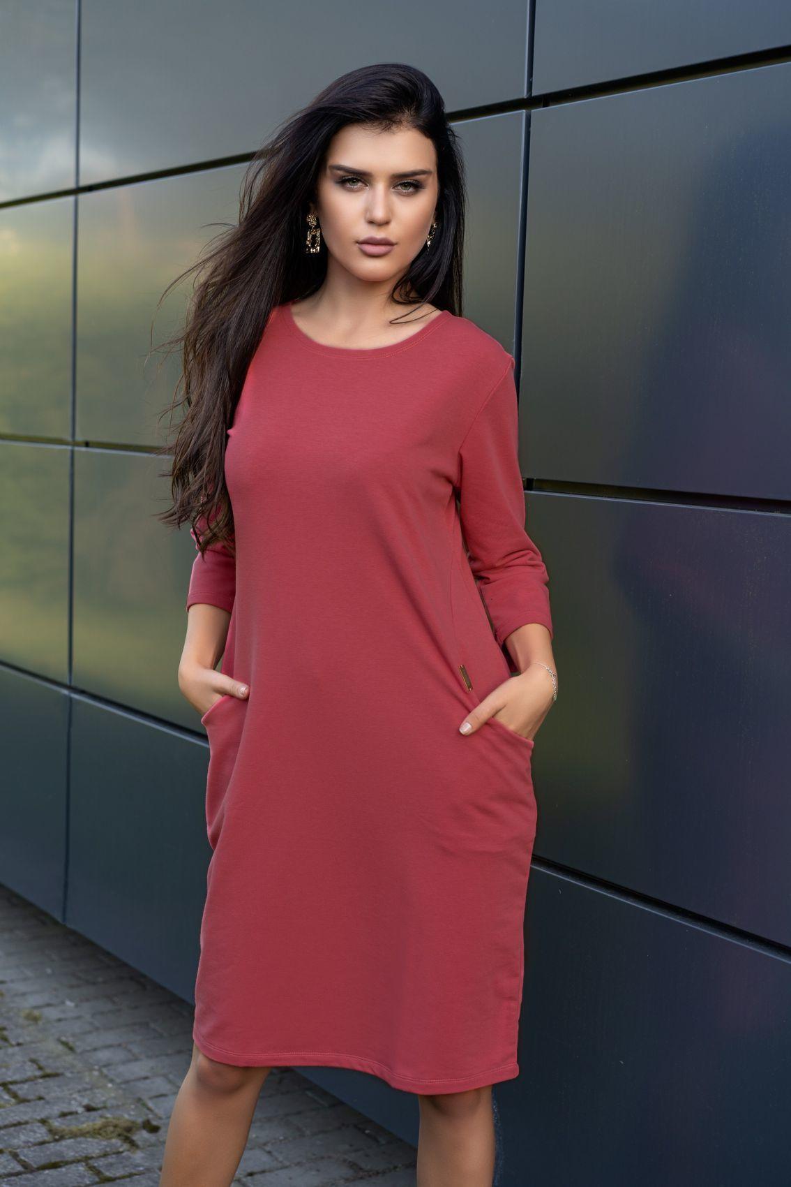 Minarilna Pink D20 sukienka
