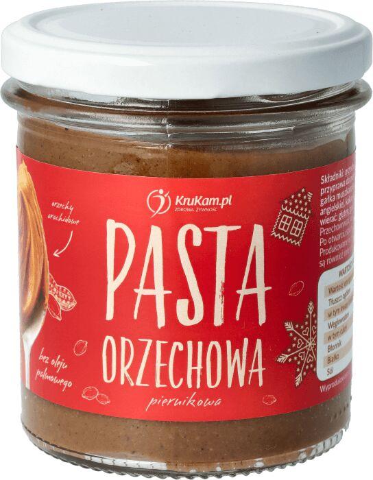 Krukam Pasta Orzechowa Piernikowa 300g