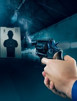 Strzelanie na strzelnicy dla dwóch osób  Gdańsk
