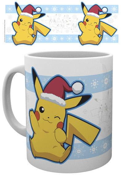 Kubek - Pokemon - Pikachu Santa