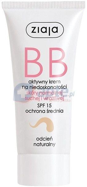 Ziaja Krem bb do skóry normalnej, suchej i wrażliwej odcień naturalny 50ml
