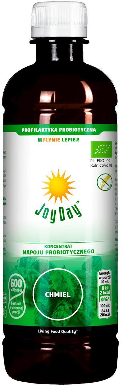 Koncentrat napoju probiotycznego chmiel bio 500 ml - joy day