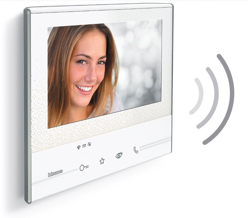 """Wideodomofon 7"""" Classe 300X13E SMART z wi-fi Bticino 344642 Certyfikowany Sklep i Wsparcie Techniczne"""