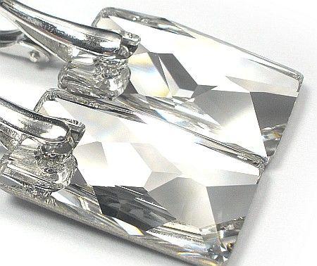 Kolczyki+Wisiorek SWAROVSKI Crystal SREBRO