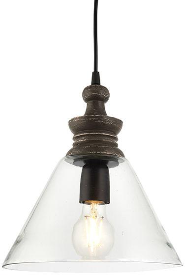 Lampa wisząca Kerala 90576 Endon szklana oprawa w stylu klasycznym