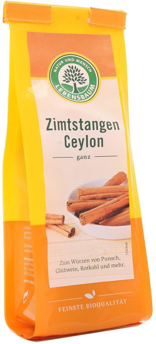 Cynamon laska BIO - Lebensbaum - 6 sztuk
