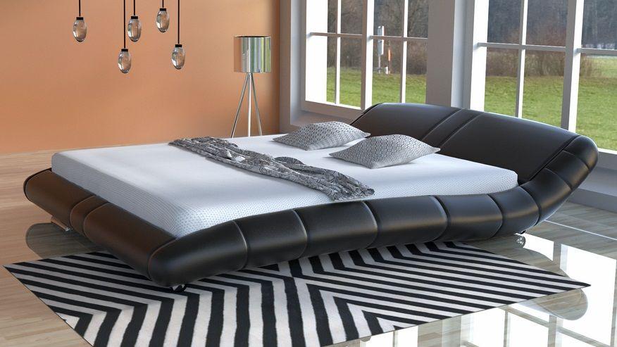 Łóżko do sypialni Lazurro-2 - tkanina