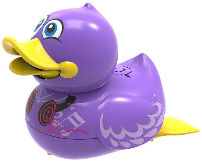 Silverlit Aqua Ducks - Śpirewająca i pływająca kaczuszka Fiolet 88447