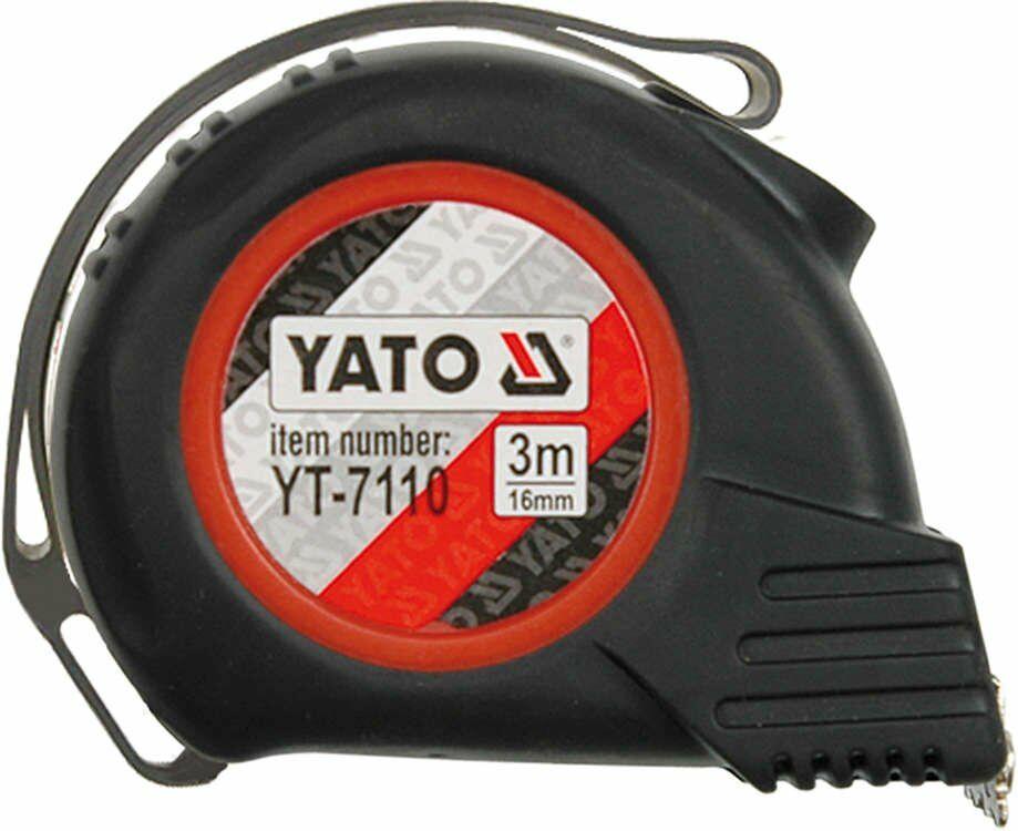 Miara zwijana 8 m x 25 mm Yato YT-7112 - ZYSKAJ RABAT 30 ZŁ