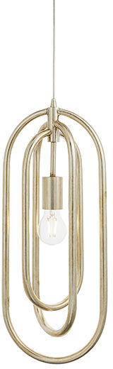 Lampa wisząca Meera 90590 Endon srebrna oprawa w stylu nowoczesnym