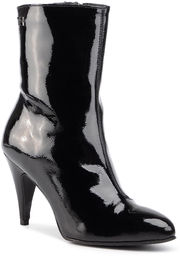 Botki TOMMY HILFIGER - Elevated Patent Bootie FW0FW04674 Black BDS