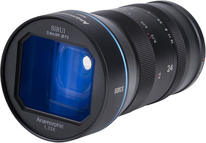 Obiektyw Sirui 24mm f/2.8 1,33X Anamorphic (Canon EF-M)