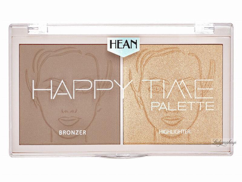 HEAN - HAPPY TIME Palette - Paleta do konturowania twarzy - 01 - CALM