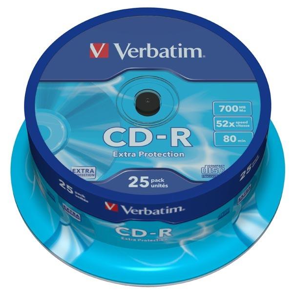 Płyta CD-R Verbatim 700MB Cake 25szt.