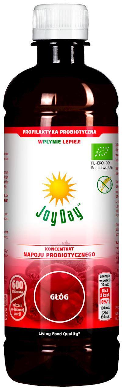 Koncentrat napoju probiotycznego głóg bio 500 ml - joy day