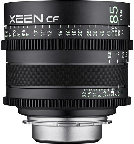 Samyang XEEN CF 85mm T1.5 - obiektyw stałoogniskowy do Canon EF Samyang XEEN CF 85mm T1.5