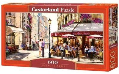 Puzzle Castor 600 - Zakochani w Paryżu