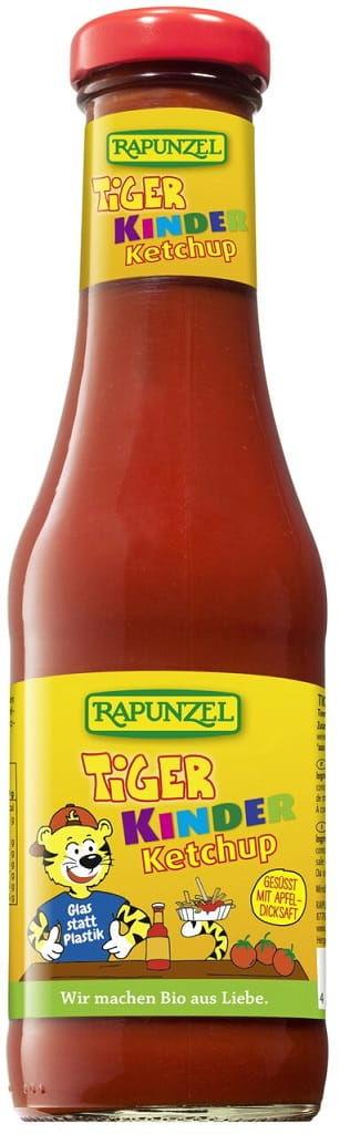 Ketchup dla dzieci tiger bio 450 ml - rapunzel