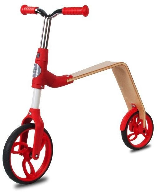 Rowerek biegowy i hulajnoga EVO 360 - czerwony