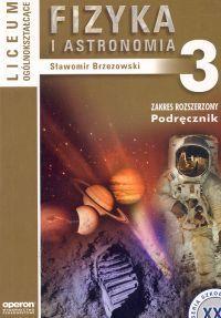 Fizyka i astronomia klasa 3 podręcznik zakres rozszerzony