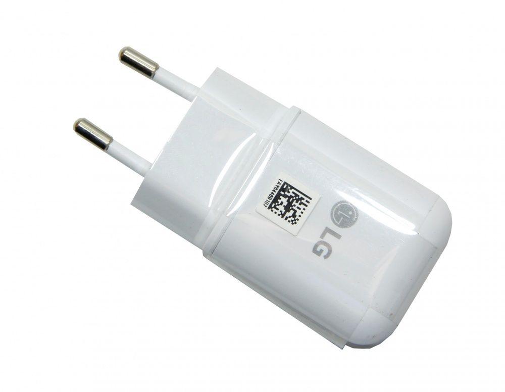 ORYGINALNA Ładowarka sieciowa LG MCS-H06ED biała