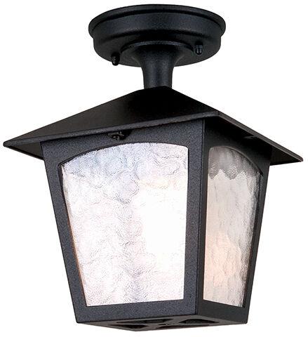 Oprawa sufitowa YORK BL6A BLACK IP23 - Elstead Lighting  Skorzystaj z kuponu -10% -KOD: OKAZJA