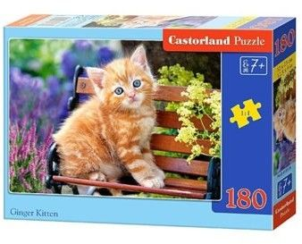Puzzle Castorland 180 - Rudy koteczek, Ginger Kitten