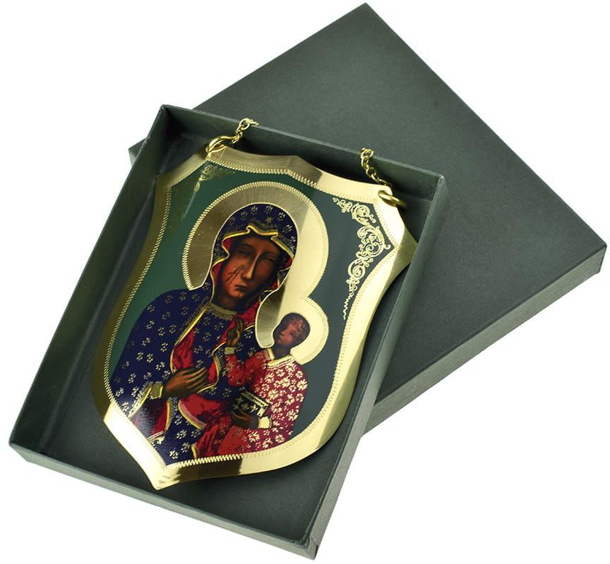 Ryngraf z Matką Bożą Częstochowską