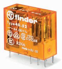 Przekaźnik 2CO 8A 125V AC, AgNi + Au, wykonanie szczelne 40-52-8-125-5001