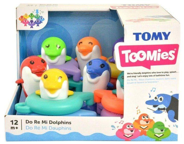 Muzyczne delfinki kąpielowe TOMY