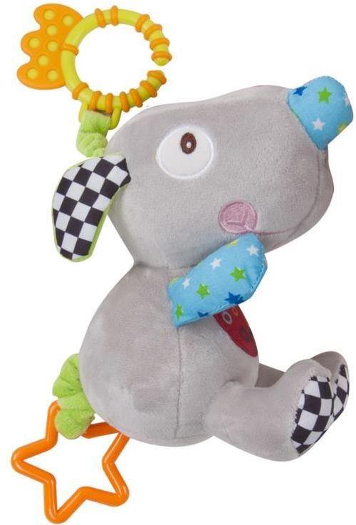Zabawka pluszowa z wibracją szara myszka