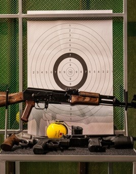 Strzelanie na strzelnicy dla dwóch osób  Chorzów