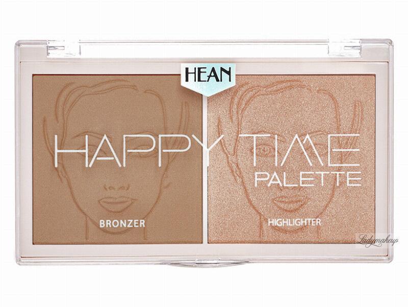 HEAN - HAPPY TIME Palette - Paleta do konturowania twarzy - 02 - SUNNY