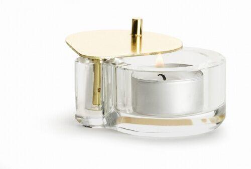 Kryształowy świecznik na tealight, Sagaform