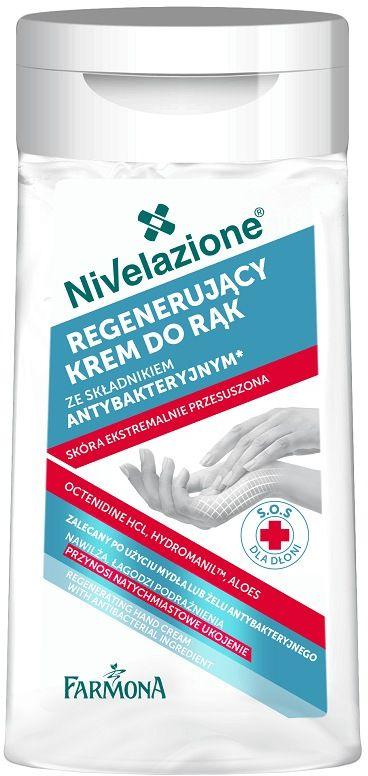 NIVELAZIONE Regenerujący krem do rąk ze składnikiem antybakteryjnym 100 ml
