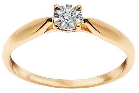 Złoty pierścionek PZD6007 - Diament