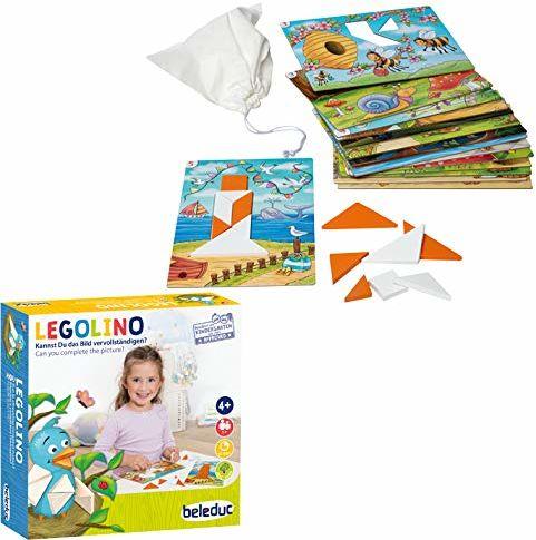 Beleduc 22571 Legolino gra dla dzieci i rodzinna