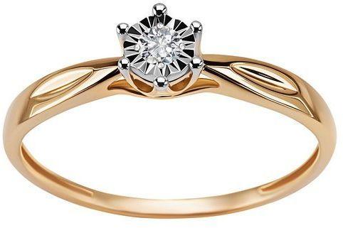 Złoty pierścionek PZD6008 - Diament