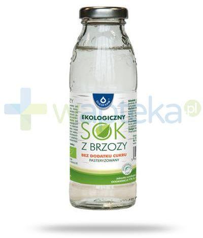Oleofarm ekologiczny sok z brzozy bez dodatku cukru pasteryzowany, płyn 300 ml