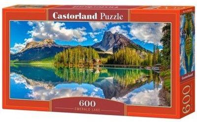 Puzzle Castor 600 - Emerald Lake, Góry Skaliste
