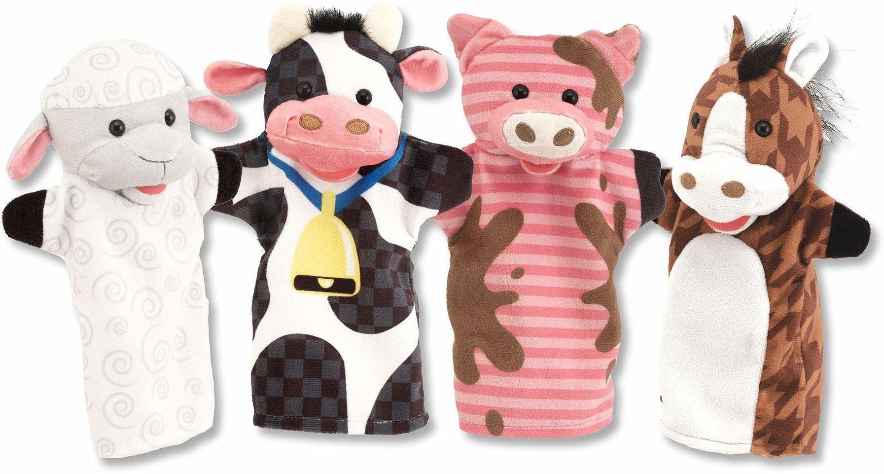Melissa & Doug Gospodarstwo rolne Puppets Lalki i teatry Miękka zabawka 2+ Prezent dla chłopca lub dziewczyny